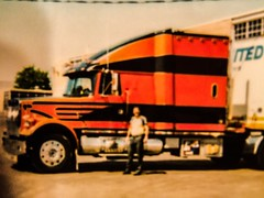 #54-2, Picture of me in front of the real truck that was in the movie OVER THE TOP (Picture Proof Autographs) Tags: pictureproof photoproof inperson authentic authenticated real genuine autograph autographed autographs signed signing autoracing sport sports hollywood tv show shows movies movie fred frederick weichmann