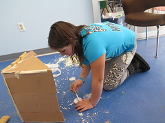 Makers at Work (Poughkeepsie Day School) Tags: school building art private design construction education 4th grade poughkeepsie cardboard independent 5th making pds privateschool lowerschool poughkeepsiedayschool