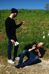 charity (Richard Twice) Tags: charity portrait people money self canon eos fear cloning clone selfie soldi carit disprezzo canoniani 1200d