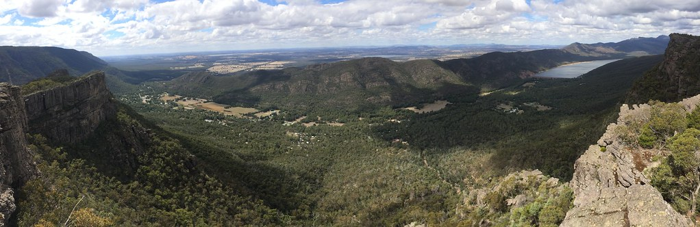 Panorama View Halls Gap by TineImWunderland, on Flickr