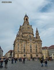 Dresden, Frauenkirche, Oktober 2014 (joergpeterjunk) Tags: dresden outdoor architektur frauenkirche gebude 2014 historisch panasonicdmcfz200
