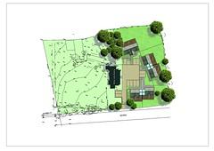 PDL draft site plan for listed building enabling scheme.