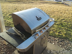 March 15, 2015 - Warm weather means BBQ time! (David Canfield)