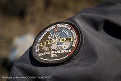 Dernires oprations de recherches sur le site du crash de Germanwings (Ministere de l'Intrieur) Tags: crash gendarmerie germanwings 4u9525