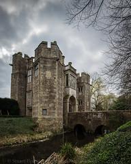 Boarstall Tower (Stuart Feurtado) Tags: bridge tree tower castle monument water nikon moody buckinghamshire national trust moat nationaltrust bucks folly 1635 d600 boarstall boarstalltower