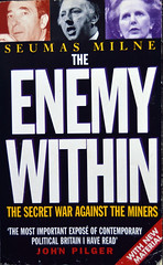 The Enemy Within, Seumas Milne (Pitheadgear) Tags: uk industry pits graphicdesign mine industrial books pit literature mines coal colliers miner designers miners charbon coalminers bookdesign coalmining industrialarchaeology kohlen industrialhistory minersstrike collieries coalindustry pitmen houillier 1984strike