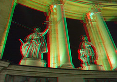 Budapest in stereo (Alexander Savin) Tags: stereoscopic 3d hungary budapest anaglyph stereo stereography stereo3d redcyan s3d