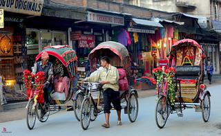 Nepalese Rickshaws
