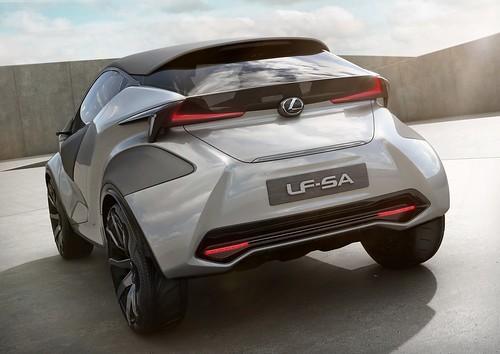 Концепт Lexus LF-SA