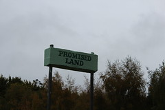 Promised Land (bobmendo) Tags: sign tasmania promisedland launceston assurance bobmendo madeit april2015