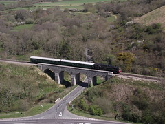 80104 (TheRailwayMaster) Tags: castle corfe swanage 80104