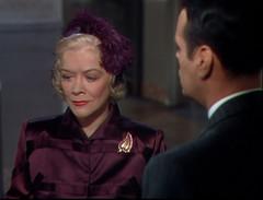 no title (annacarvergay) Tags: hat fashion vintage pin purple brooch jewelry namethatfilm gladysgeorge