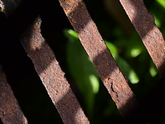 Layers (mitchell_dawn) Tags: shadow macro rust grill layers depth macromondays itsallabouttheshadow