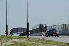 Eerste metro 2015-04-15 at 10-57-33 (Guda G) Tags: amsterdam metro transport nz noordzuidlijn amsterdamnoord nzlijn buiksloot northsouthline buikslotermeer proefrit nietinstappen nieuweleeuwarderweg nieuwepurmerweg eerstemetro