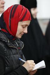 56. Paschal Prayer Service in Svyatogorsk / Пасхальный молебен в соборном храме г. Святогорска