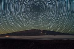 A Classic View (Raiatea Arcuri) Tags: hawaii bigisland maunakea startrails maunaloa polaris northstar