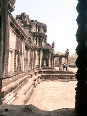 Framed - Angkor Wat (cattan2011) Tags: travel building landscape ancient cambodia angkorwat architects traveltuesday
