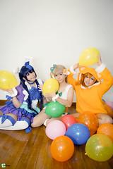 Love Live ~ Animal Version (Melvina Chua) Tags: love singapore cosplay live umi kotori honoka cosplayphotography
