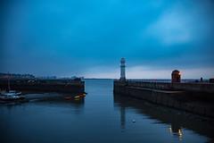 Newhaven Harbour Lighthouse Edinburgh (iDvL) Tags: trip lighthouse photography scotland edinburgh harbour newhaven
