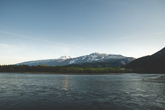 Revelstoke (eric.vanryswyk) Tags: sky mountain snow canada mountains water clouds forest river landscape dawn golden twilight nikon dusk columbia hills cap hour british 20mm nikkor f18 revelstoke shuswap monashees d610 monashee