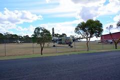 DSC_0933 (LoxPix2) Tags: clouds vintage landscape airport aircraft australia queensland nomad caribou oakey loxpix australianarmyflyingmuseum