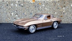 1964 Chevrolet Corvette Sting Ray Sport Coupe (JCarnutz) Tags: chevrolet stingray corvette 1964 diecast 124scale danburymint
