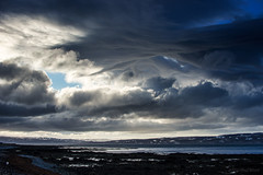 He came dancing across the water (OR_U) Tags: blue sea sky storm beach water clouds landscape coast iceland coastline fjord oru neilyoung westfjords 2016 hlmavk