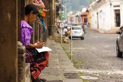 Antigua,Guatemala (Never House) Tags: guatelama plaza armas antigua raulwong 2016 sudamerica latin america rezar pray square canon 55250 bible god