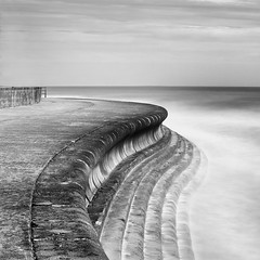 The-Edge (petefoto) Tags: sea cloud seascape landscape kent curves steps shapes spray walkway edge rough filters broadstairs nikond810