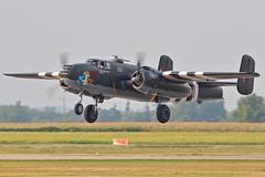 B-25 Mitchell (Derek Mickeloff) Tags: canon airshow mitchell brantford b25 cwh 60d hotgen