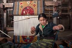 Darjeeling_January_2013_0610 (Satyaki Basu) Tags: west lady self work canon refugee centre indoor help tibetan bengal darjeeling himalayas 1755 450d