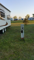 Did I mention that we were on site 57 (JD and Beastlet) Tags: park new york travel family camping friends camp vacation ny foot state group slide together gathering vehicle trailer rv 27 camper 2012 coles recreational rockwood mfcc crrek 2701ss