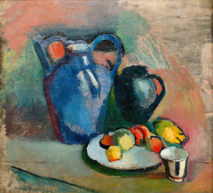 Henri Matisse, Nature Morte  la cruche bleue (Still Life with Blue Jug), ca. 1900-1903 (Sharon Mollerus) Tags: sanfrancisco california unitedstates sanfranciscomuseumofmodernart