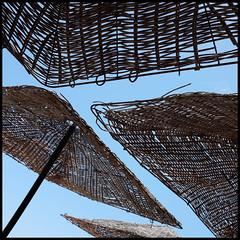lagos   sunshades (foto.phrend) Tags: holiday portugal sunshine square lagos shade fujifilm
