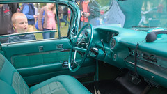From Another World (SlickCZ) Tags: people kid cabin child teal interior cyan cadillac inside 50s whoa 1959 luxurious interiour cadillacdevillefleetwood