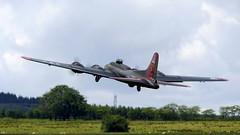 B-17 - after take-off (velton) Tags: lma large model aircraft aeroplane plane jet radio controlled boeing flying fortress bomber usaf ww2