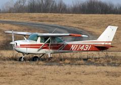 Cessna 150L (N11431) Twilight (dlberek) Tags: sch cessna150 cessna150l abandonedaircraft airportorphan derelictaircraft ksch abandonedplane n11431