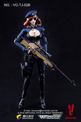 VERYCOOL TOYS VCF-TJ02 WeFire Sniper Little Sister - TJ02B Brown Hair 01 (Lord Dragon ) Tags: hot female toys actionfigure doll verycool onesixthscale 16scale 12inscale