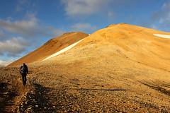 Mskarshnjkar (Freyja H.) Tags: iceland mskarshnjkar mskarshnkar mosfellsdalur nature outdoor landscape sun sky clouds rock scree rhyolite