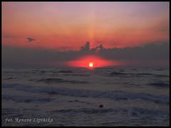 Kreta i zachd soca (Renata_Lipiska) Tags: travel sunset sea sky water clouds outdoor dusk kreta greece woda morze chmury niebo grecja zachdsoca podre islandofcrete renatalipiska wyspakreta