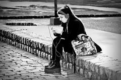Libertad (Wal CanonEOS) Tags: street portrait blackandwhite bw woman streets byn blancoynegro blanco argentina girl lady portraits canon photography eos libertad freedom monocromo calle mujer buenosaires day foto phone y retrato candid femme negro dia monocromatic celular tatoo celphone callejeando tatto tatuaje bsas airelibre caba monocromatico capitalfederal villacrespo ciudaddebuenosaires portraitbw parquecentenario alairelibre argentinabsas retratobyn ciudadautonoma streetsbw rebelt3 canoneosrebelt3