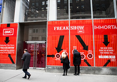 "Exterior view, ""Immortal Love Pop-up Experience - Freakshow & Immortalized"" show at Pop Up Gallery in New York City, February 7, 2013. Copyright  2010-2013 AMC Network Entertainment LLC. All rights reserved. (searabbits23) Tags: ca ny newyork sexy celebrity art hat fashion animal brooklyn asian coneyisland japanese star tv google king artist dragon god vampire famous gothic goth uma ufo pop taxidermy vogue cnn tuxedo bikini tophat unitednations playboy entertainer oddities genius mermaid amc mardigras salvadordali performer unicorn billclinton billgates aol vangogh curiosities sideshow jeffkoons globalwarming mart magician takashimurakami pablopicasso steampunk losangels damienhirst cryptozoology freakshow leonardodavinci realityshow seara immortalized takeshiyamada roguetaxidermy searabbit barrackobama ladygaga climategate"