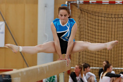 Gym_france_championship-33 (Franois NICOT) Tags: portrait girl sport eos claire competition beam inside gym tamron gymnastic 6d championnat flers