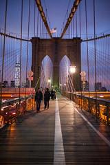 Brooklyn Bridge at Night (Diacritical) Tags: brooklyn 35mm f14 brooklynbridge summiluxm11435asph centerweightedaverage worldwidephotowalk secatf14 leicamtyp240 october32015 brooklynwwpwworldwidephotowalk2015 65310pm