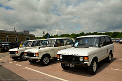 Classic Land Rover Show 2016 - Range Rover Classic (Si 558) Tags: classic museum rover land british motor landrover range rangerover carshow 2016 classiccarshow britishmotormuseum