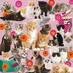 Kitty Madness viereckig (Leonisha) Tags: puzzle jigsawpuzzle