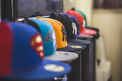 NEW ERA (HugoSilvaDesigns) Tags: newera caps baseball newyork superman neworleans indoor 50mm f18 bokeh canon 60d canon60d hat hats collection