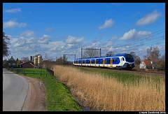 NSR 2501, De Klomp 04-04-2016 (Henk Zwoferink) Tags: de flirt ns fast polska ede forward henk fff spoorwegen nsr klomp nederlandse stadler 2501 zwoferink flirt3