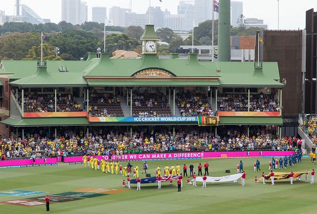Australia v Sri Lanka, Sydney, 2015 Cricket World Cup