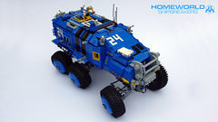 Baserunner MRK-02 (6x6 Exo Recon ATV) (curtydc) Tags: 6x6 hardware ship power lego offroad micro vehicle remote atv spaceship homeworld apc rc function controlled remastered microspace shipbreakers microscale microfleet